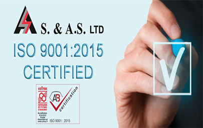 ISO 9001: 2015 Certified Company