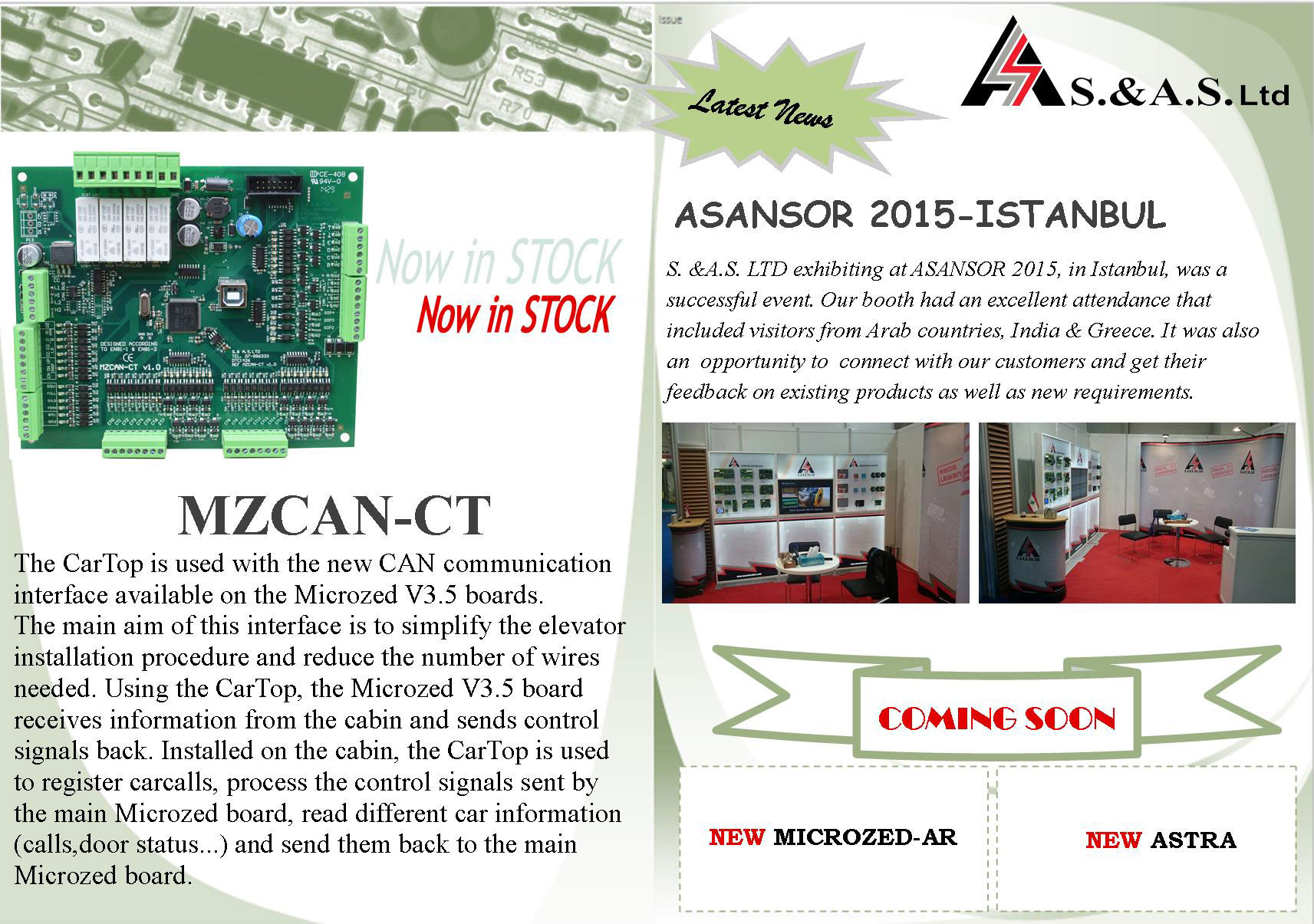 MICROZED-CAN (CARTOP)